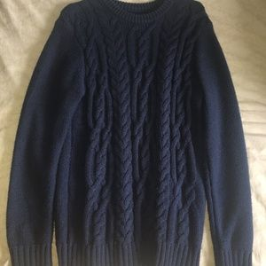 {3/$20} Navy Thick Sweater (Old Navy)